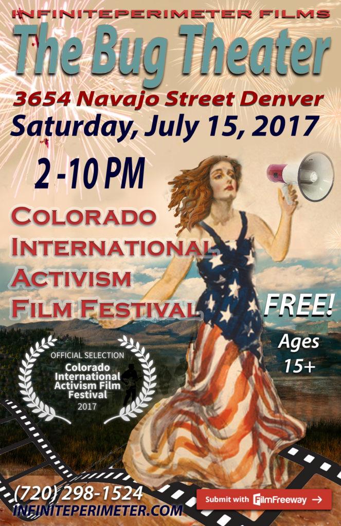 Colorado International Activism Film Festival, July 15, 2017 The Bug
