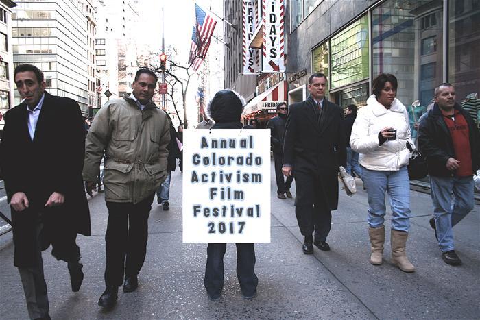 Colorado International Activism Film Festival, July 15-16, 2017