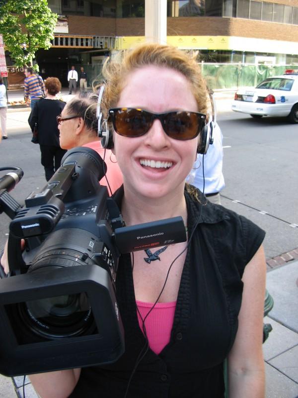 The Activists Headshot FUNK_THE_WAR_-_Mel_filming_copy